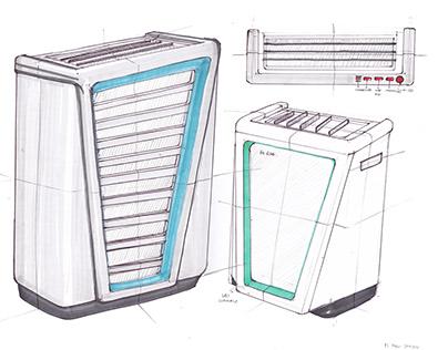 [Initial Sketch] Air Purifier