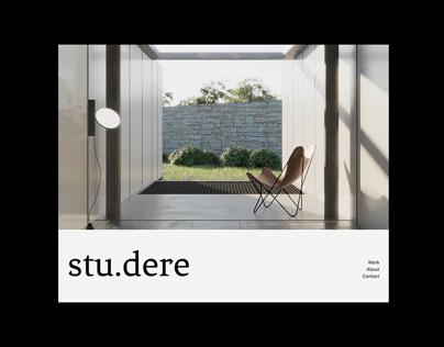 Stu.dere Website