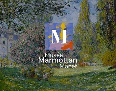 Musée Marmottan UX/UI app