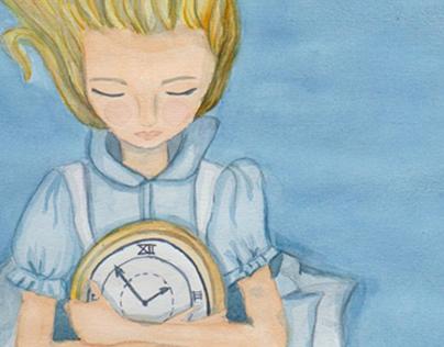 Ilustración Alicia