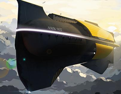 Rescue Spaceship Concept ARK