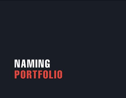 Naming Portfolio | ENTRE Gestão & Design