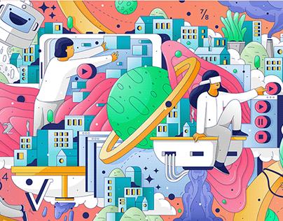 illustration Timmersive