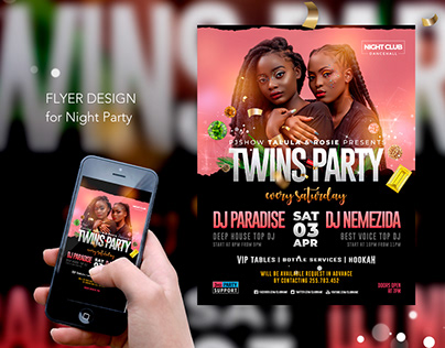 Twins Night Party