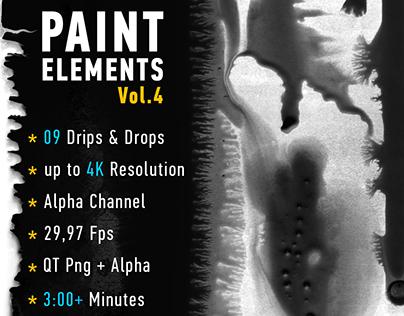 Paint Elements Vol 4 - Expanding Ink - Motion Graphics