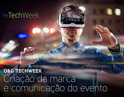 O&G Techweek - Criação da marca e comunicação do evento