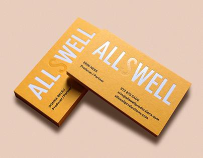 Allswell Production Branding