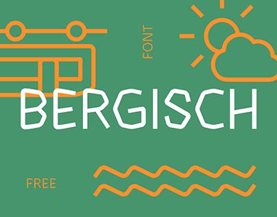 BERGISCH Free-Font