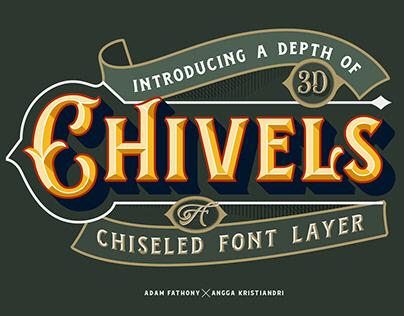 Chivels - Chiseled Vintage Fonts