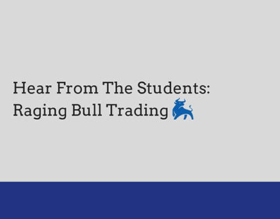 Hear From The Students: Raging Bull Trading