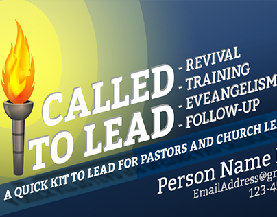 Called to Lead - Business Card Design