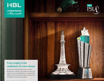 HBL PSL - Print Ad