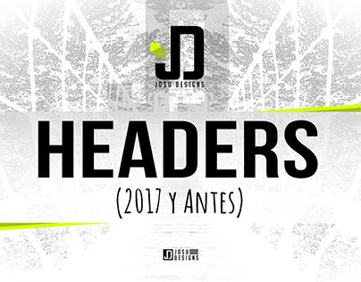 Headers Twitter (2017 y Antes)