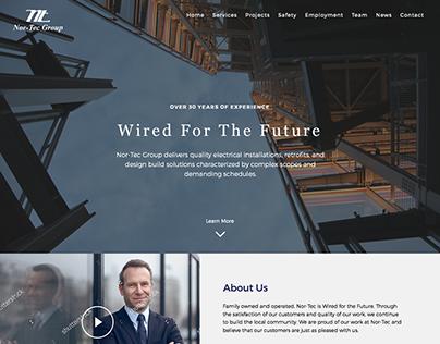 Nor-Tec Website Design