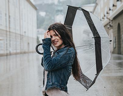 Rainy Day in Salzburg