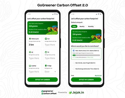 GoGreener Carbon Offset 2.0