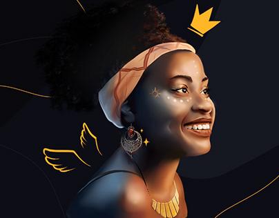 Ilustração - Consciência Negra