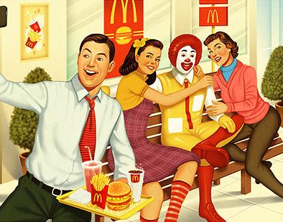 McDonald's calendar - 2015