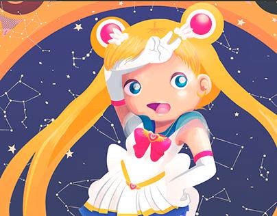 ILUSTRACIÓN | Sailor Moon Tribute