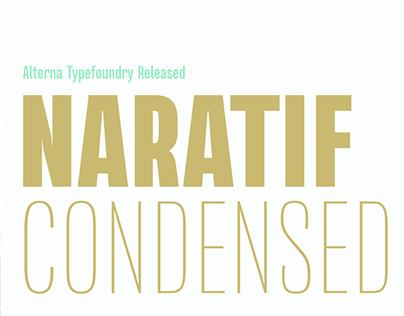 (Free) Naratif Condensed Typeface