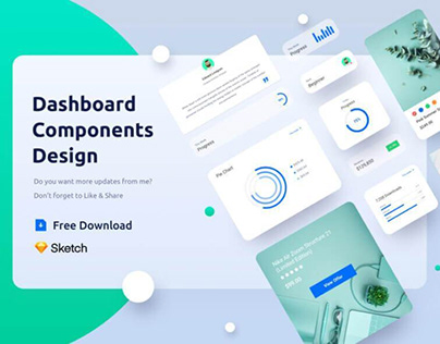 Components Dashboard Free