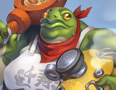 Character - Frog Villian Cook (2017)