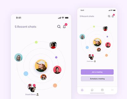 Meeting app concept