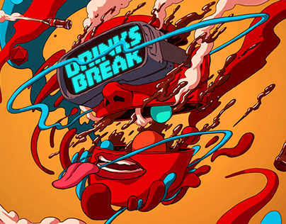 Coca-Cola x Twitch 'Drink Break' Morph Madness