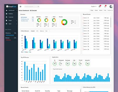 CloudStats - Dashboard