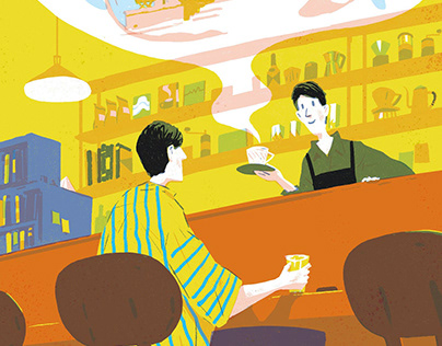 Illustrations for Fidelity International - Taiwan