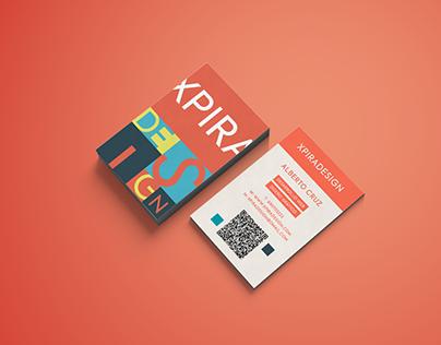 Xpira Design Contact Card