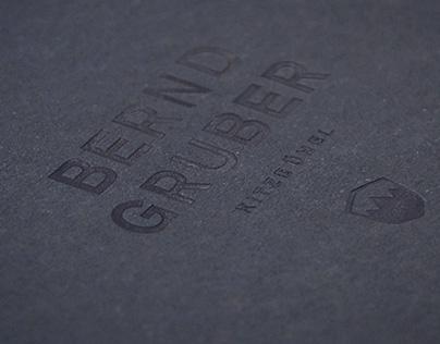 ›Bernd Gruber‹ Brand Relaunch