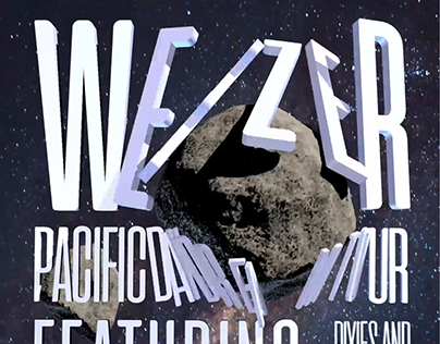Weezer Motion Posters