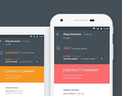 Service Request Management Mobile App