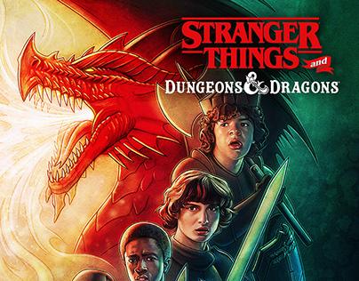 Stranger Things x Dungeons & Dragons