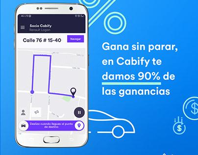 Cabify mejores comisiones