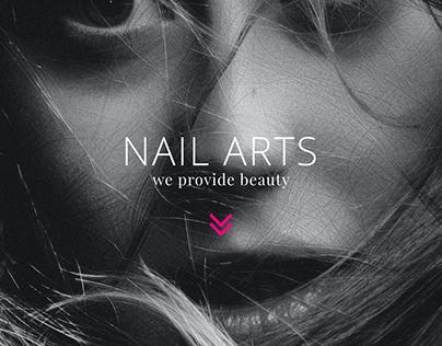 Nails Art - Web Design
