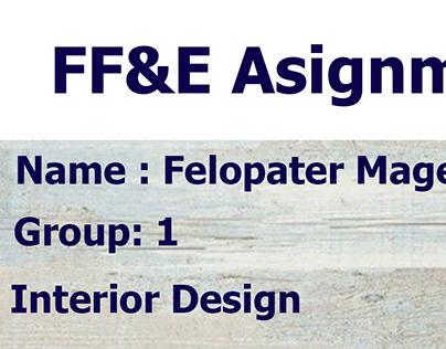 FF&E furniture