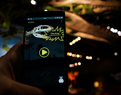 Science World - Dino Tour App (iPhone & Android)