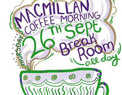 Macmillan promotional posters