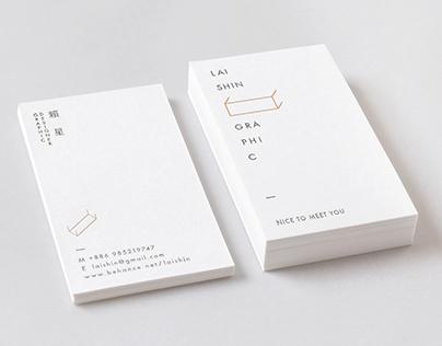 LaiShin Graphic name card
