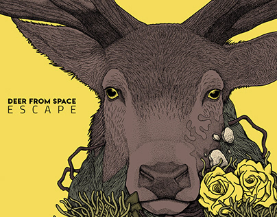 Deer From Space - Escape Album Cover Art