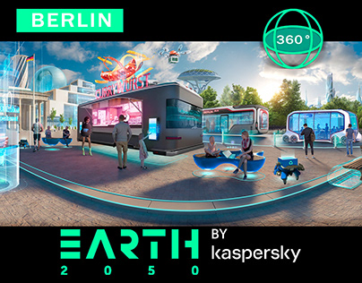 BERLIN_VR_360° Concept art panorama