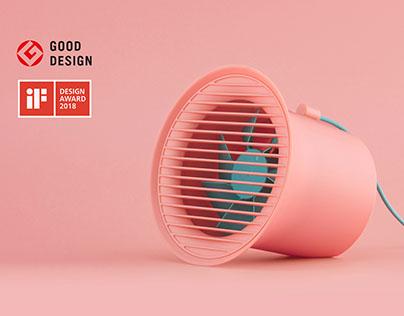 Desktop fan Designed by inDare