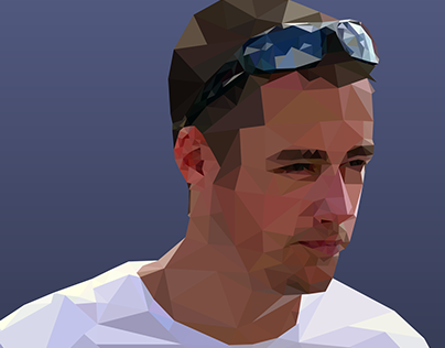 Low Poly Artwork - Handsome Chap
