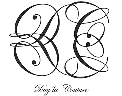 Branding for Day' La Couture (client designed logo)