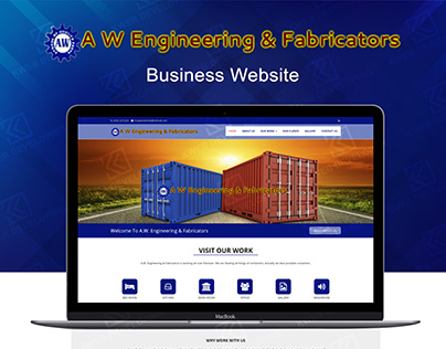 AW ENGINEERING BUSINESS WEBSITE