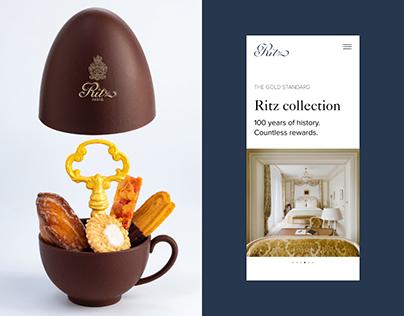 Ritz. New Identity & Website. Concept.