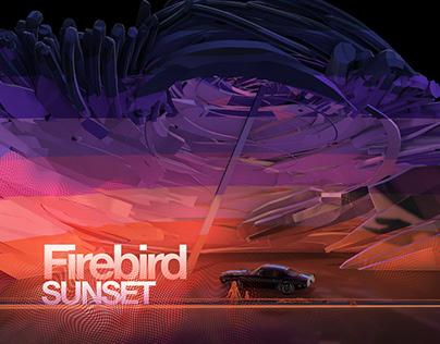 Firebird Sunset