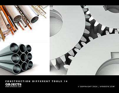Construction Different Tools 14 - www.afrogfx.com